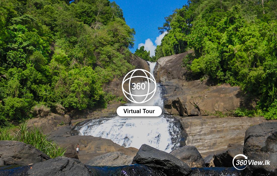 Virtual Tour of Bopath Ella Falls – Ratnapura