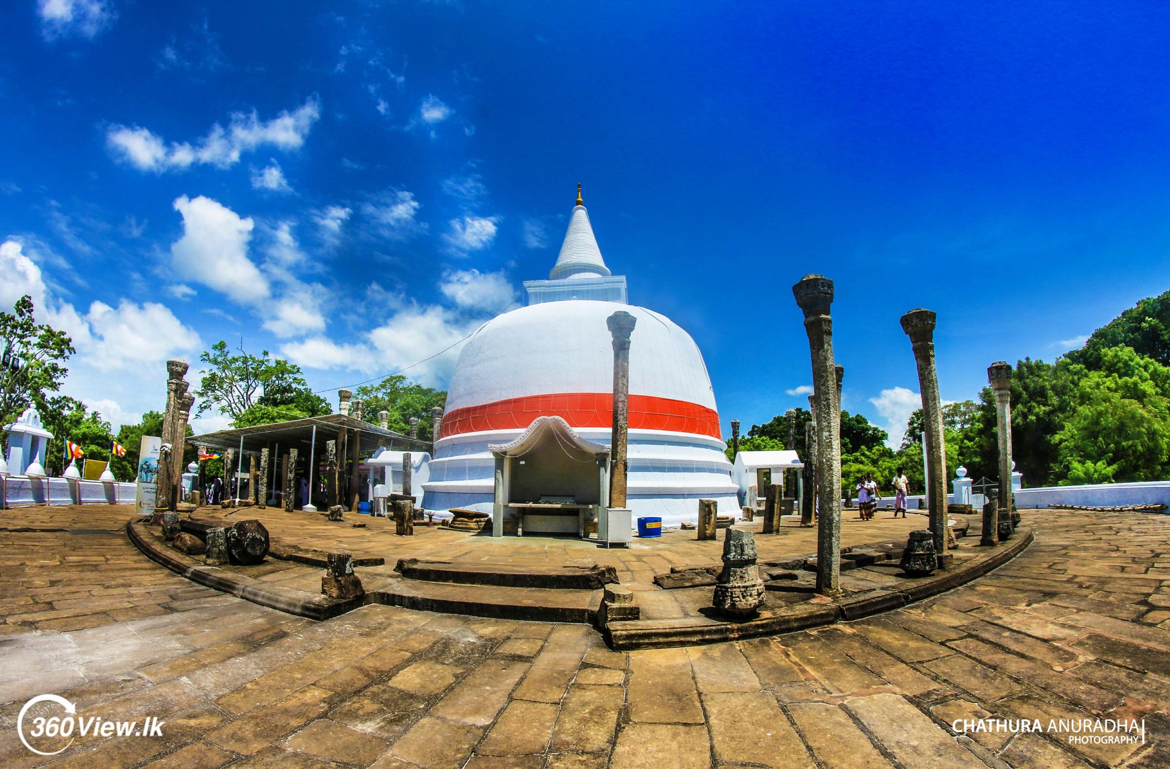 Anuradhapura Lankaramaya – A Stupa Long Ago