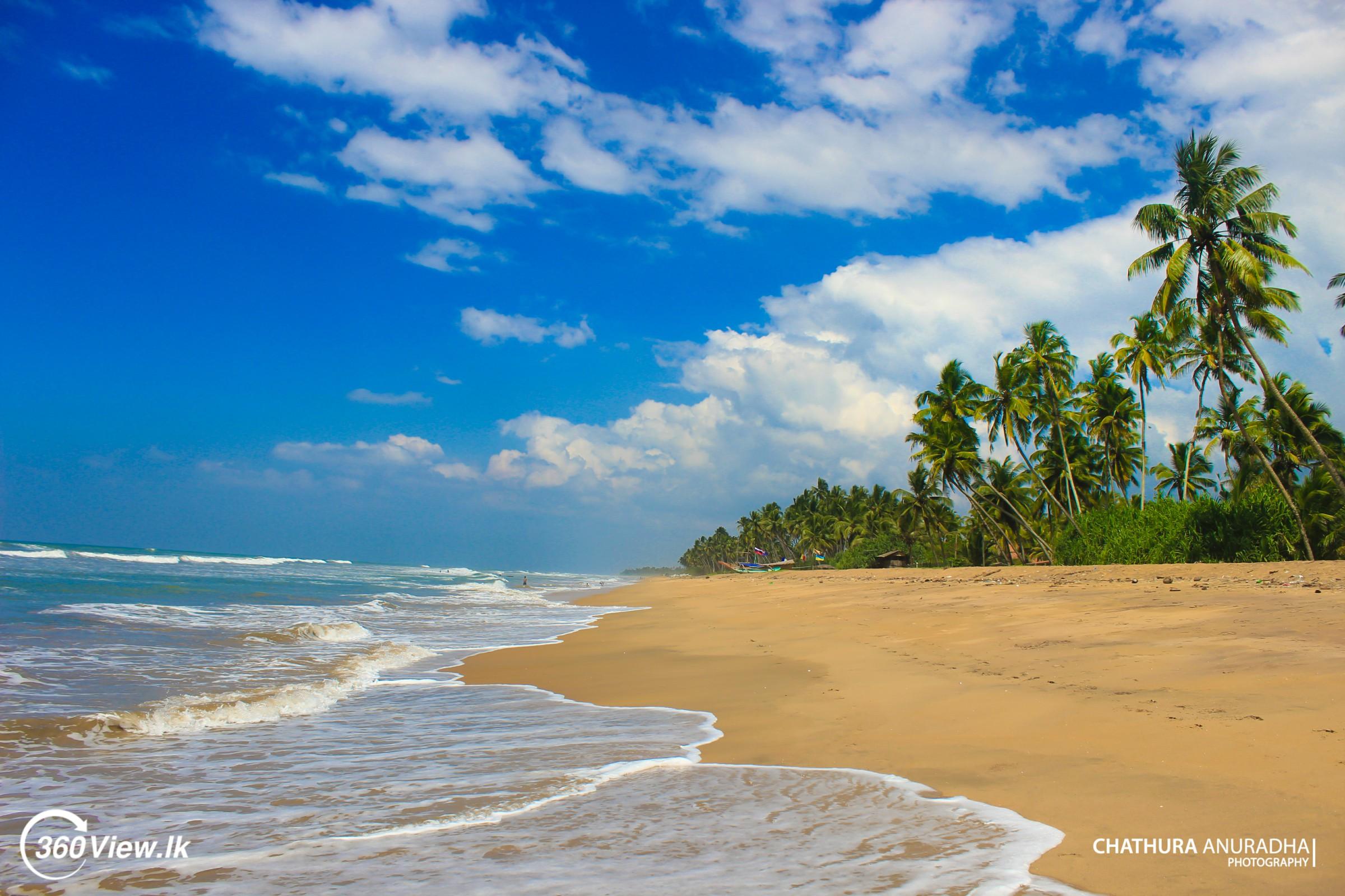 Wadduwa Beach -The Wide Sandy Seashore