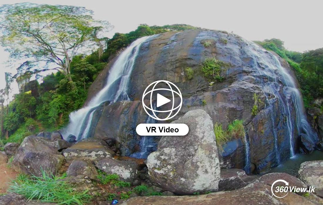 360 VR Video of Hunnasgiriya Water Fall (Matale)