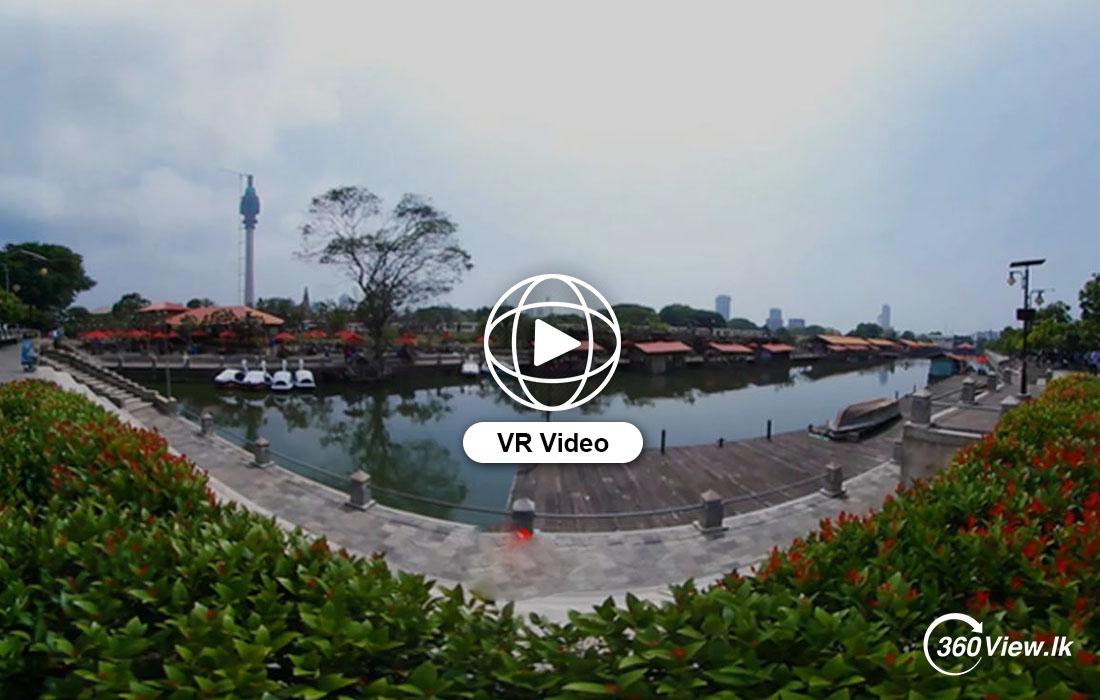 360 VR Video of Pettah Floating Market