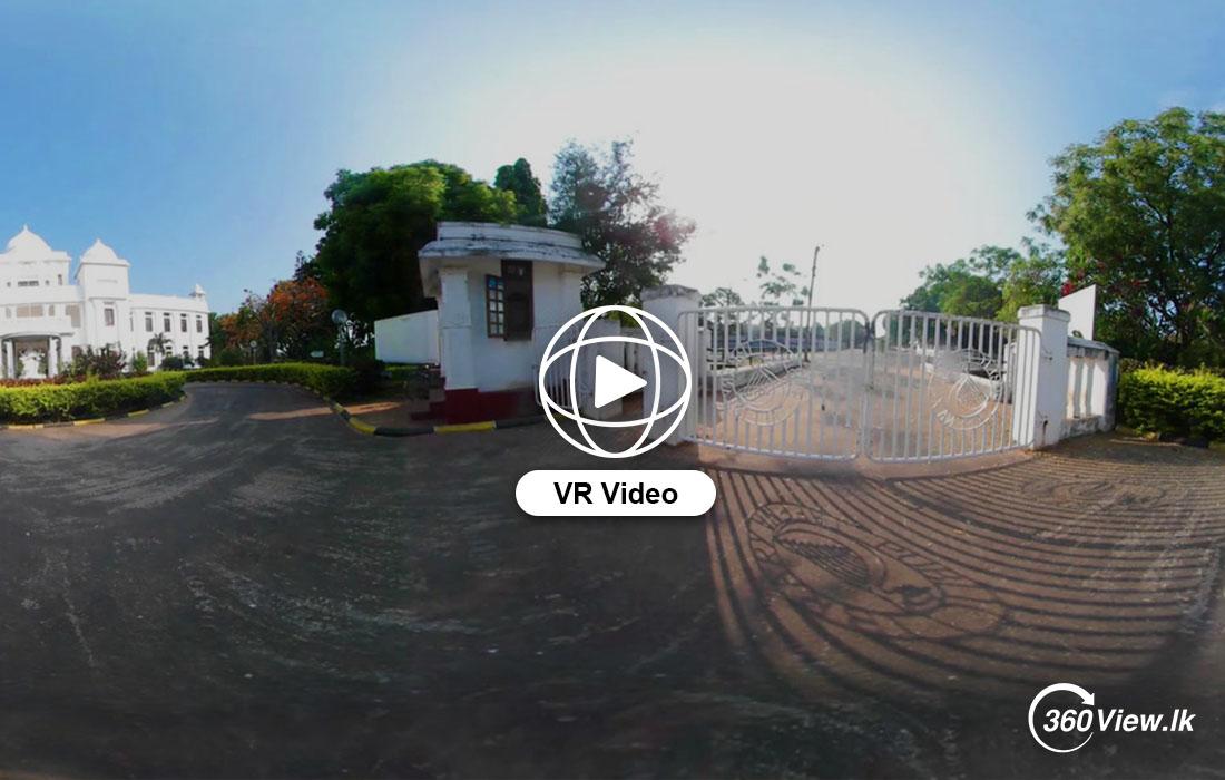360 VR Video of Public Library Jaffna