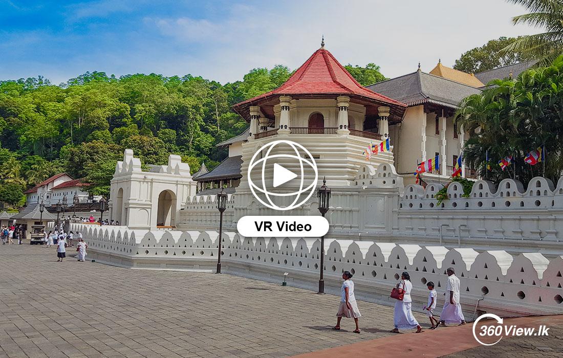 360 VR Video of Sri Dalada Maligawa