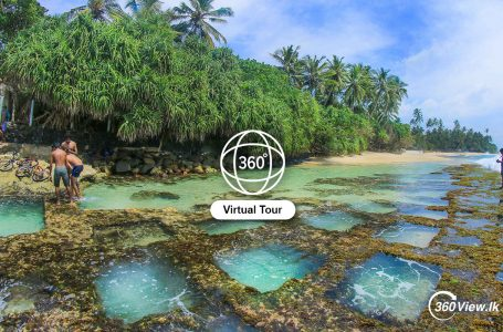 Virtual Tour of Thalpe Rock Pool Beach