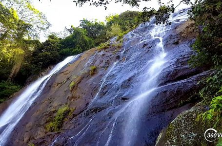 Short Video of Hunasfalls Waterfall