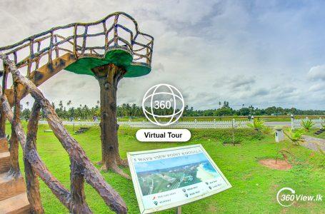 Virtual Tour of Koggala 5 Ways View Point